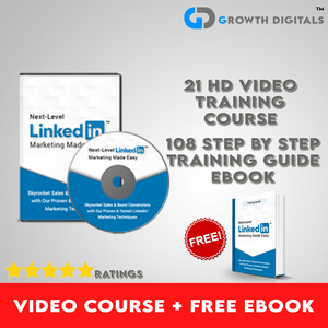 Linked In Marketing Video Course + Free eBook Training Guide