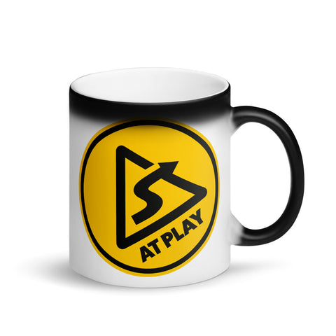 AT PLAY Signature Matte Black Magic Mug