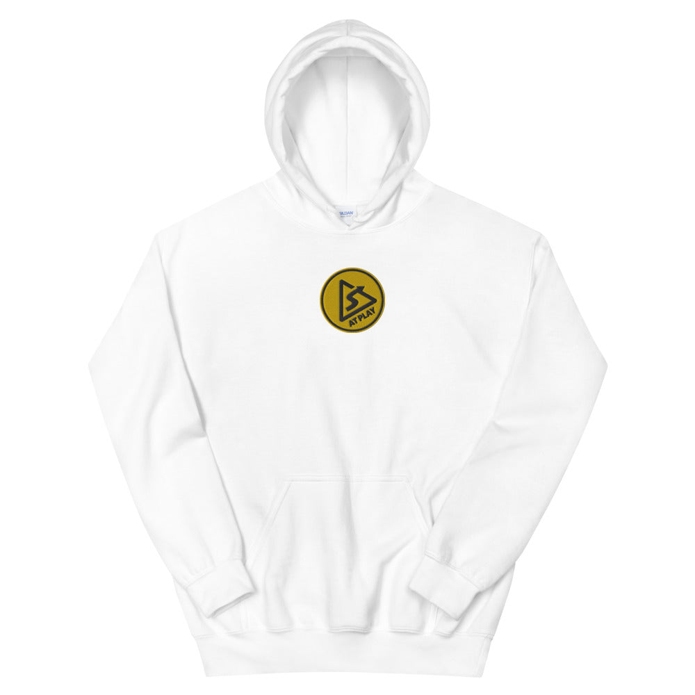 AT PLAY Signature Embroidered Unisex Heavy Blend Hoodie