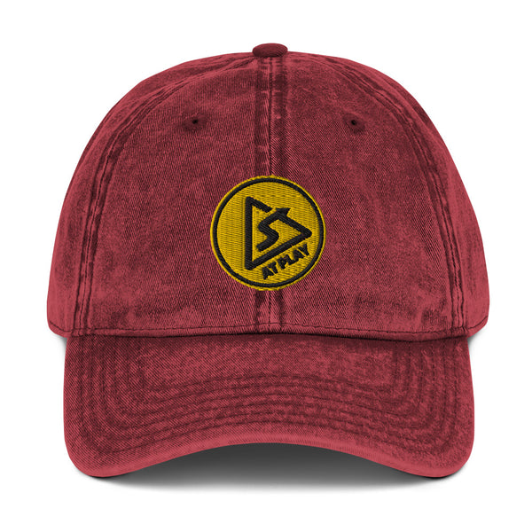 AT PLAY Signature Vintage Cotton Twill Cap