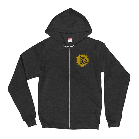 AT PLAY Signature Embroidered Unisex Zip Up Hoodie