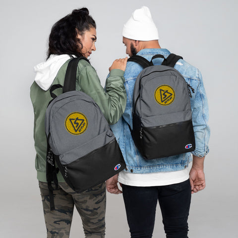 AT PLAY Signature Embroidered Champion Backpack