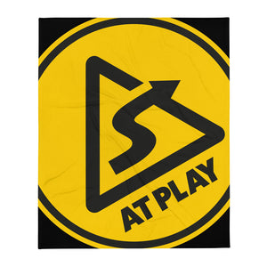 AT PLAY Signature Throw Blanket - 50×60