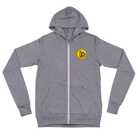 AT PLAY Signature Unisex Lightweight Zip Hoodie