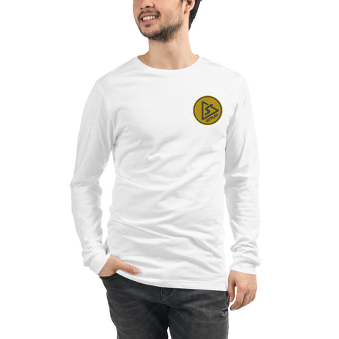 AT PLAY Signature Embroidered Unisex Long Sleeve Tee
