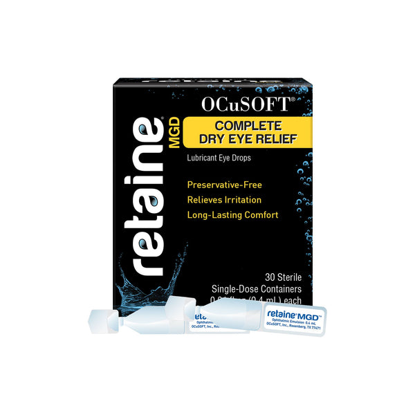 OCuSOFT Retaine MGD Eye Drops 30 Pack