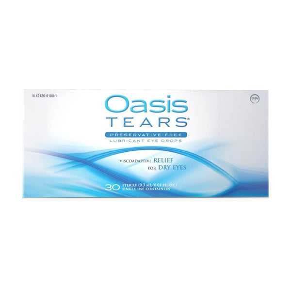 Oasis TEARS Eye Drops 30 Pack