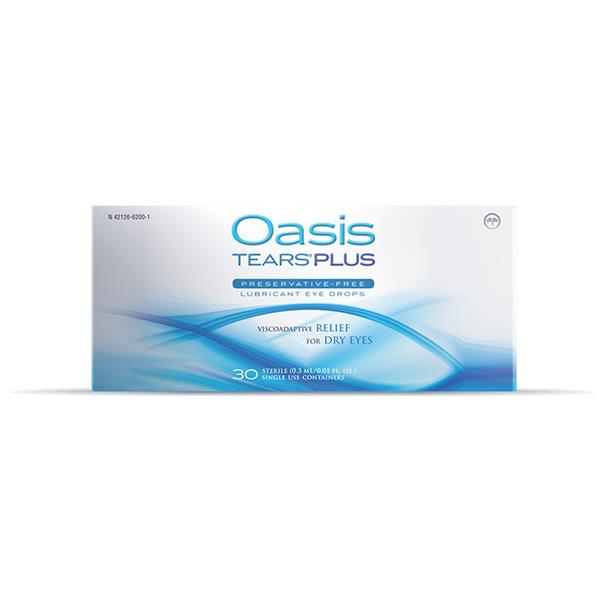 Oasis TEARS PLUS Eye Drops 30 Pack