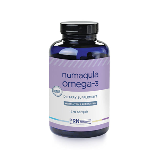 PRN Numaqula Omega-3 Softgel Pills 270 Count