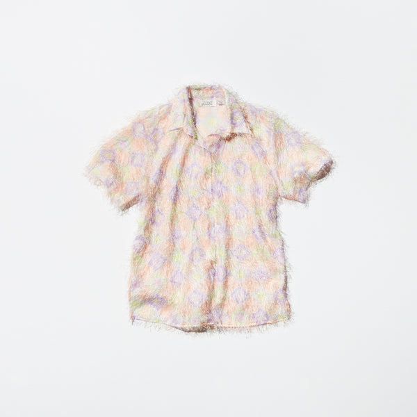 Vintage《SELENE SPORT》Long Hair Short-sleeve Shirt