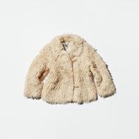 Vintage《White Stag》Fake Fur Jacket