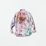 Vintage Splash Painted Shirt