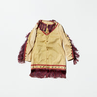 Vintage《SANNAP》Costume Fringe Long Shirt