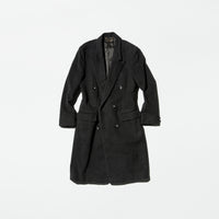 Vintage《William Cheng & Son》Double-breasted Chesterfield Coat