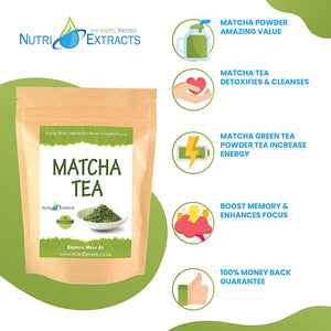 Matcha Green Tea 100g Ceremonial Grade