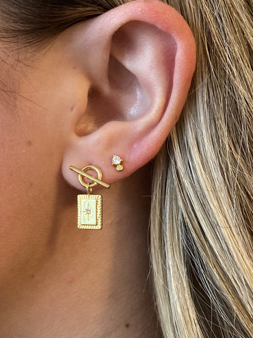 The Samantha Toggle Earrings