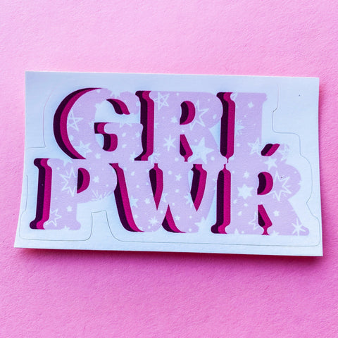 Girl PWR Sticker