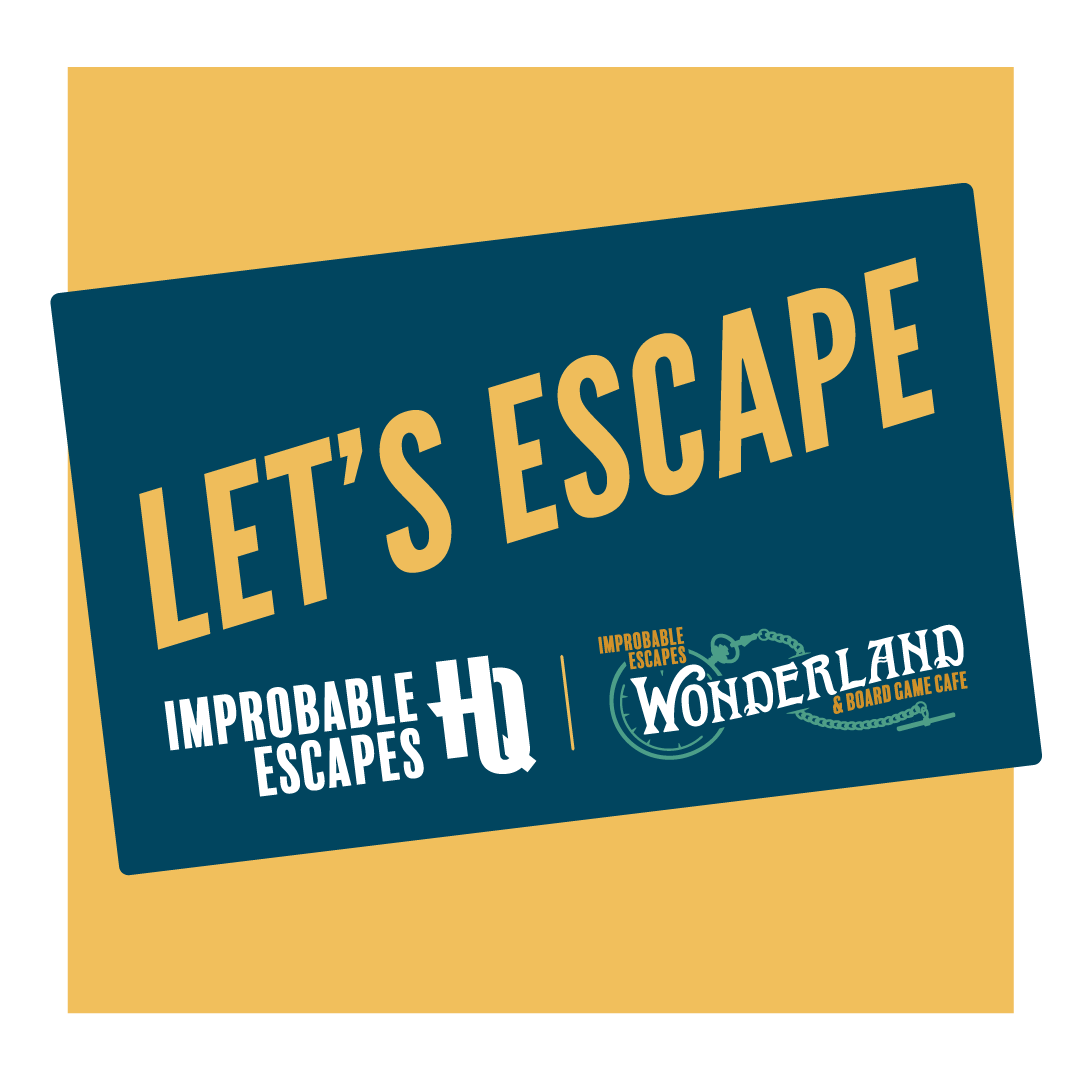 improbable escapes and wonderland gift cards