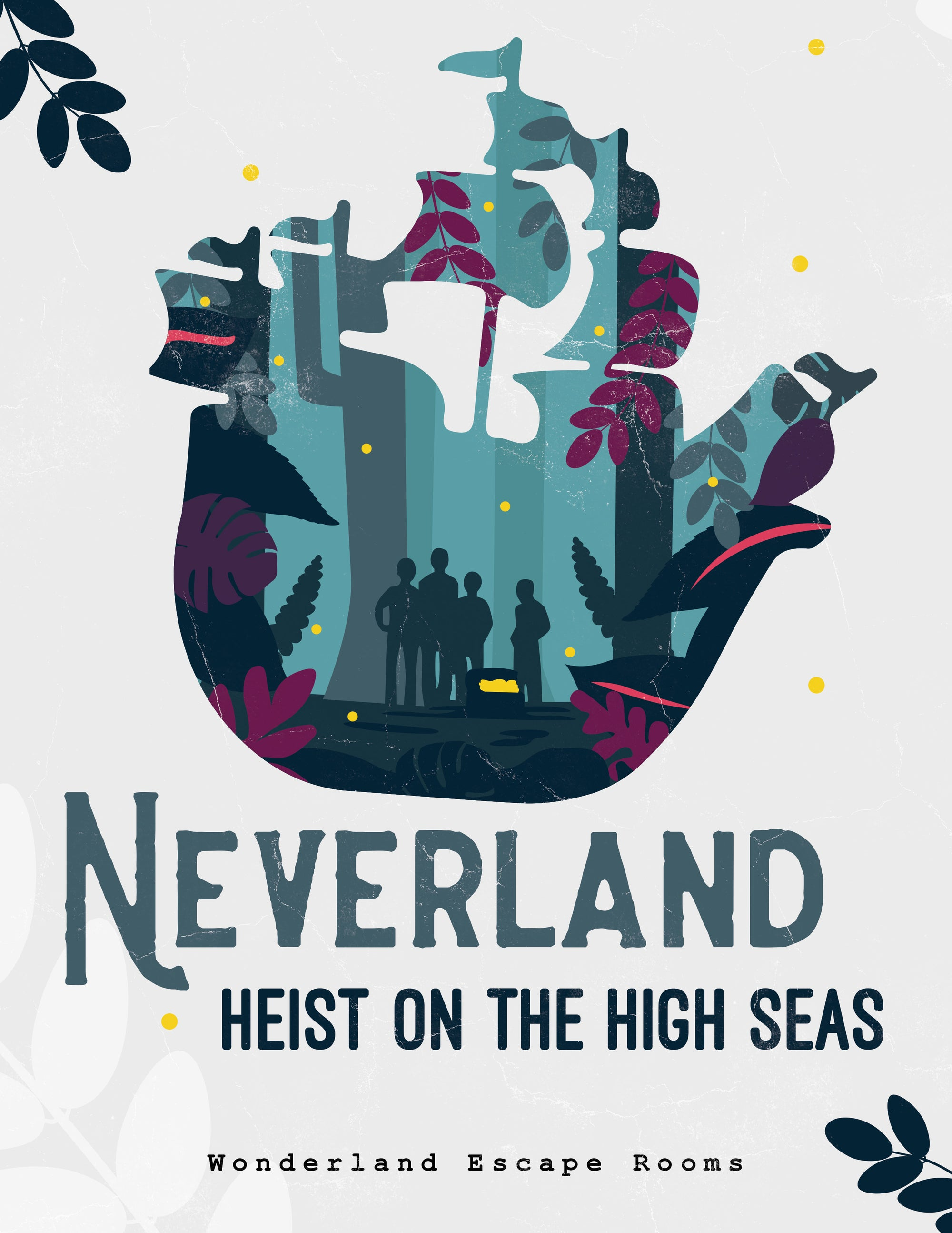 Neverland Height on the High Seas Escape Room