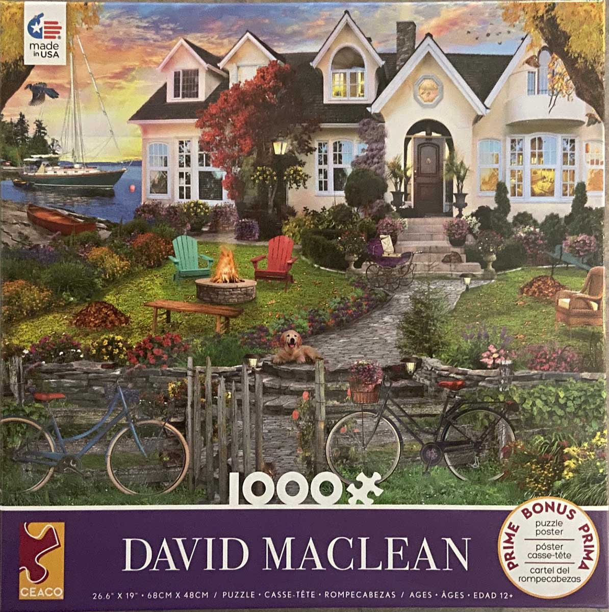 Assorted Puzzles, by David Maclean (1000 pieces)