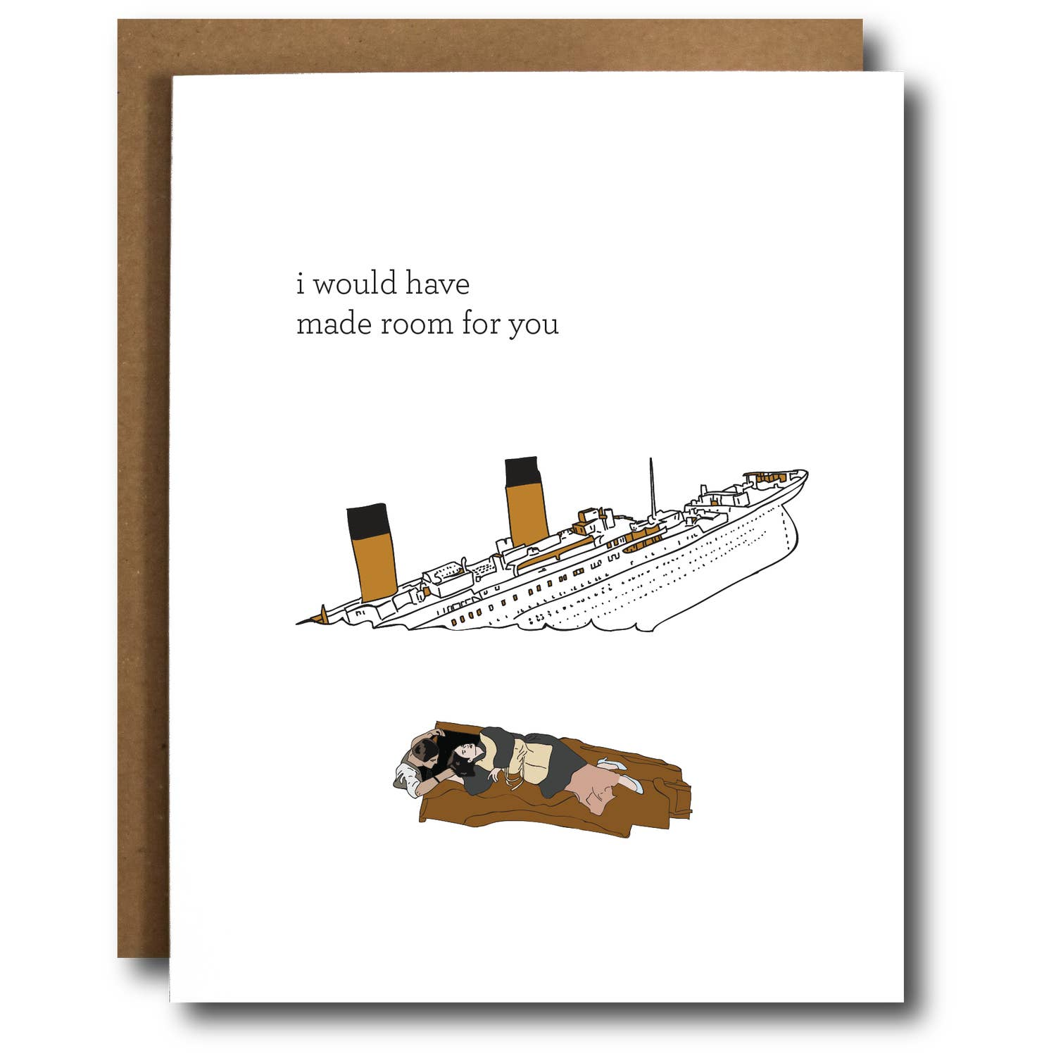 Stronger than Titanic Love Funny Valentine's Card