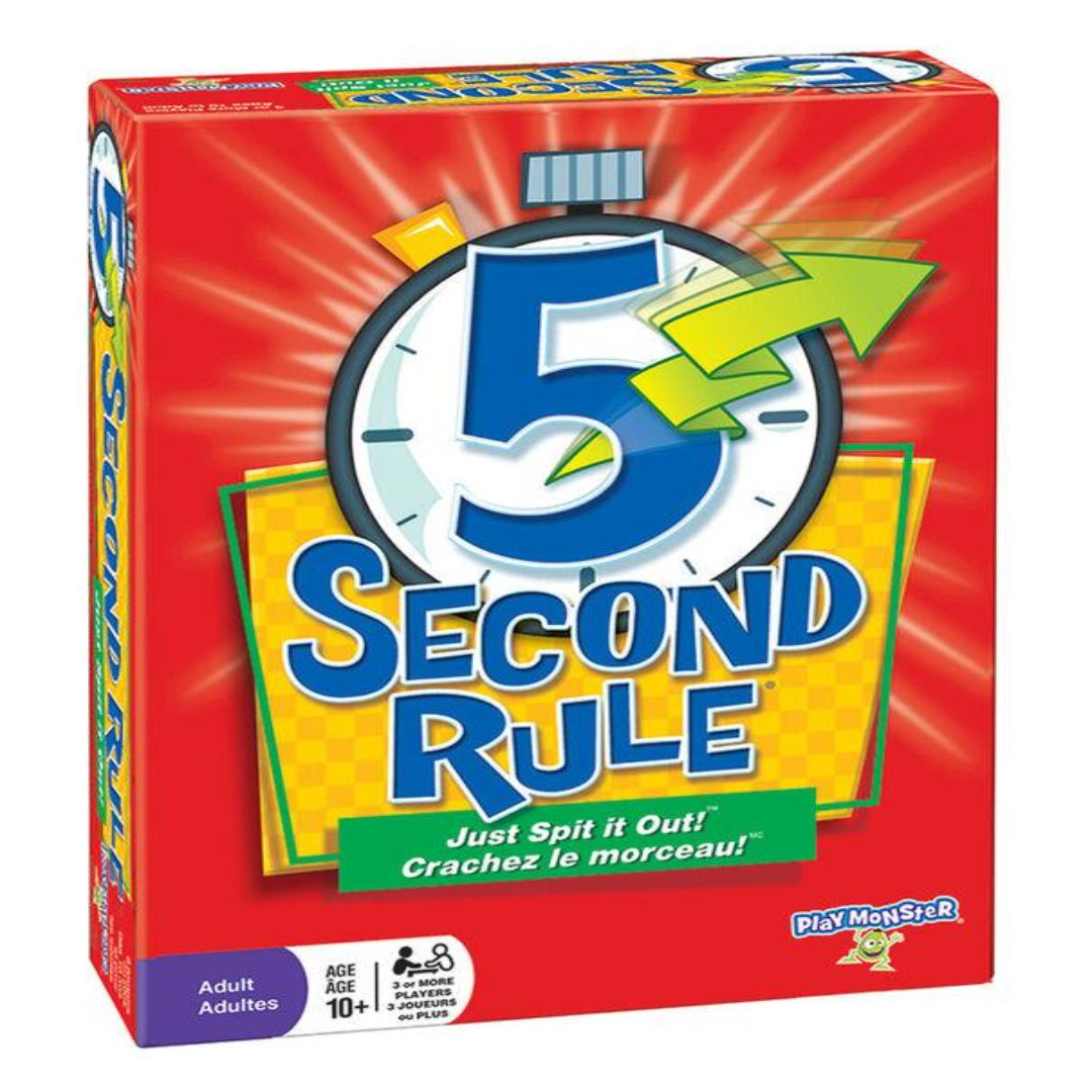5 Second Rule | Board Game Rental
