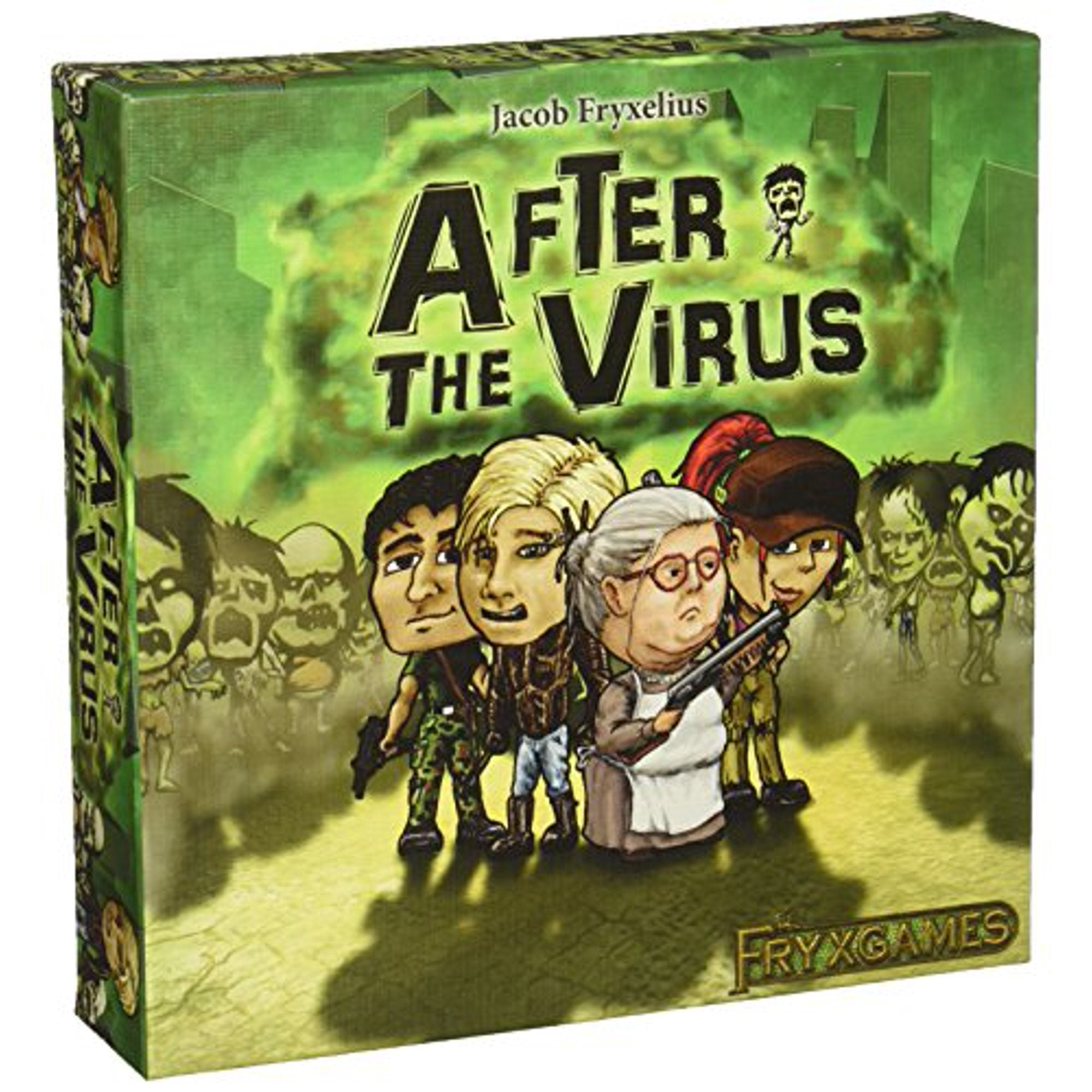 After the Virus | Board Game Rental