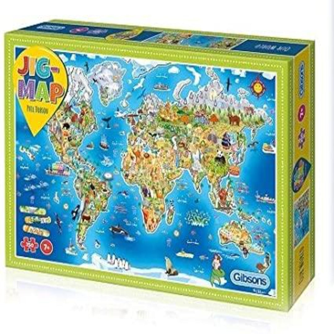 Jigmap - Our World (250 pieces)