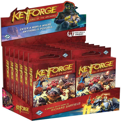 Keyforge: Call of the Archons - Archon Deck - Display of 12