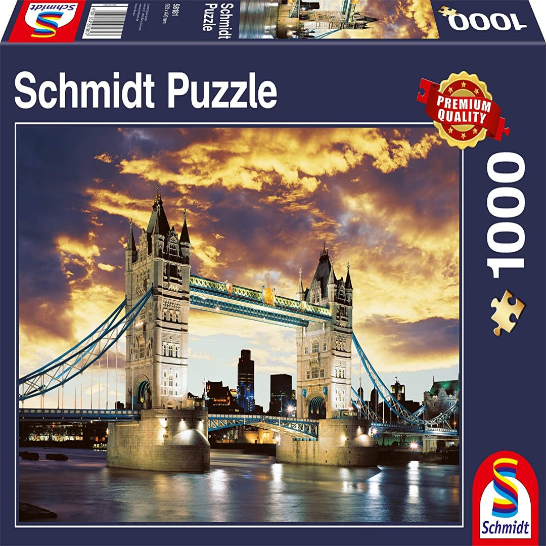 Tower Bridge, London (1000 pieces)