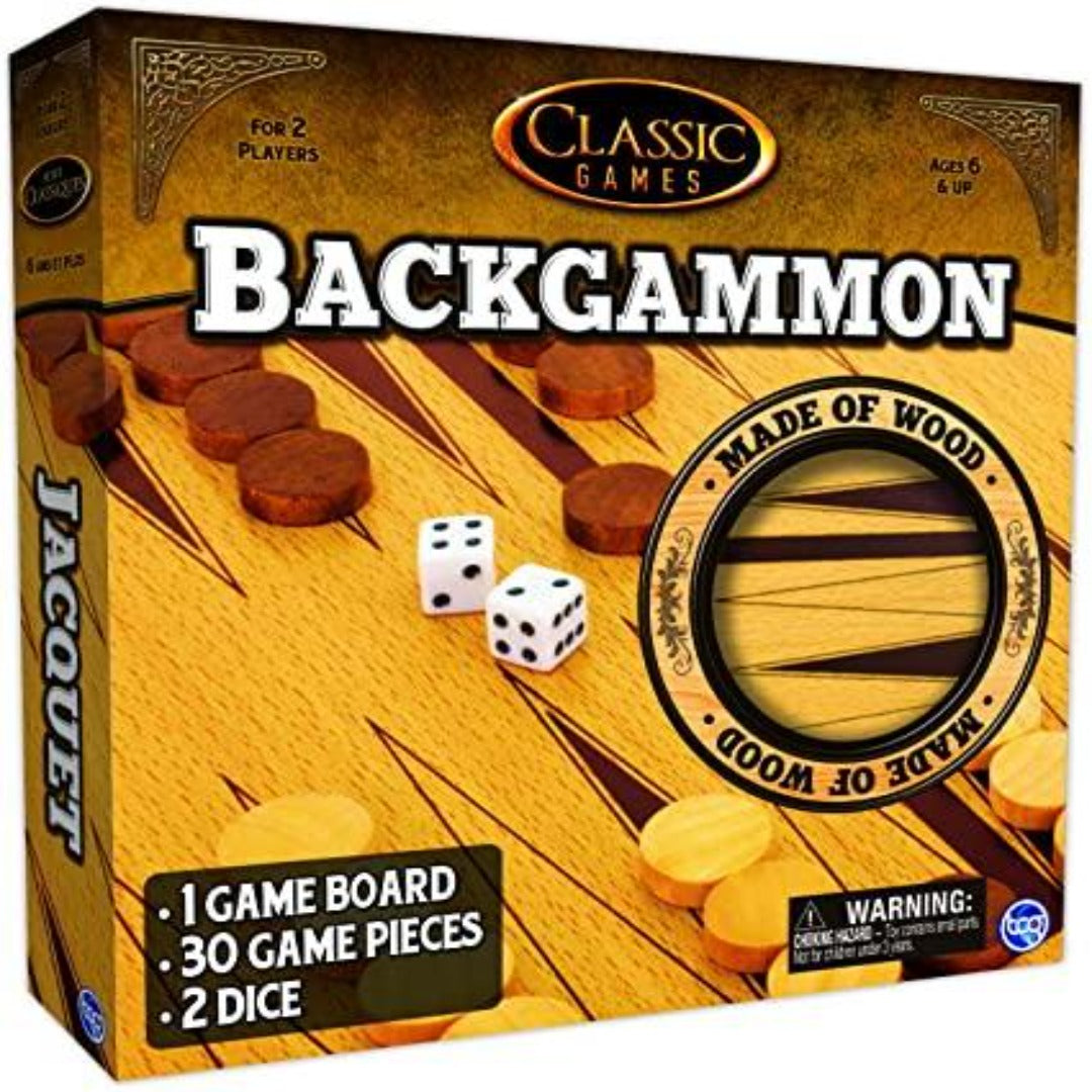 Backgammon (Solid Wood)