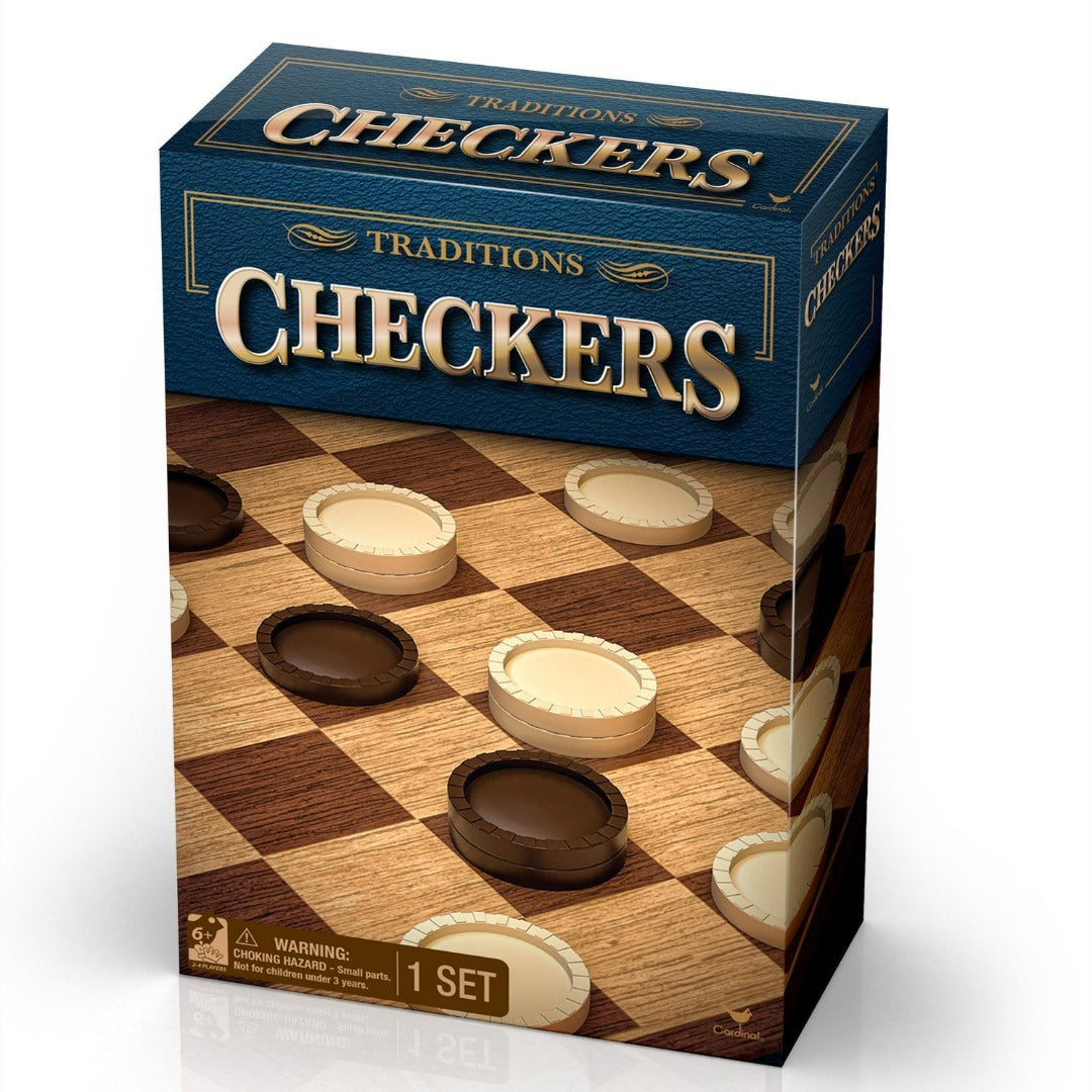 Classic Checkers Set