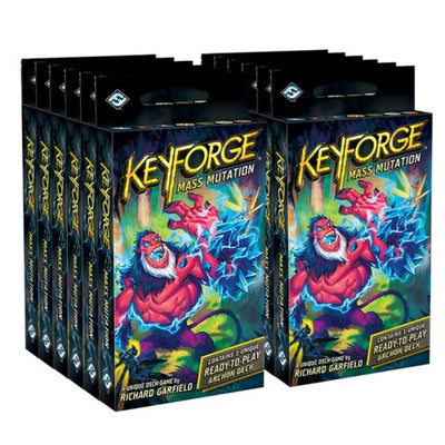 Keyforge: Mass Mutation - Archon Deck - Display of 12