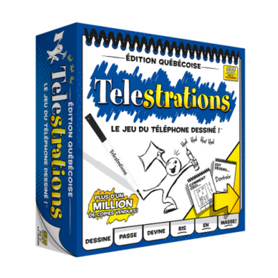 Telestrations has everything you need for a great evening of fun!