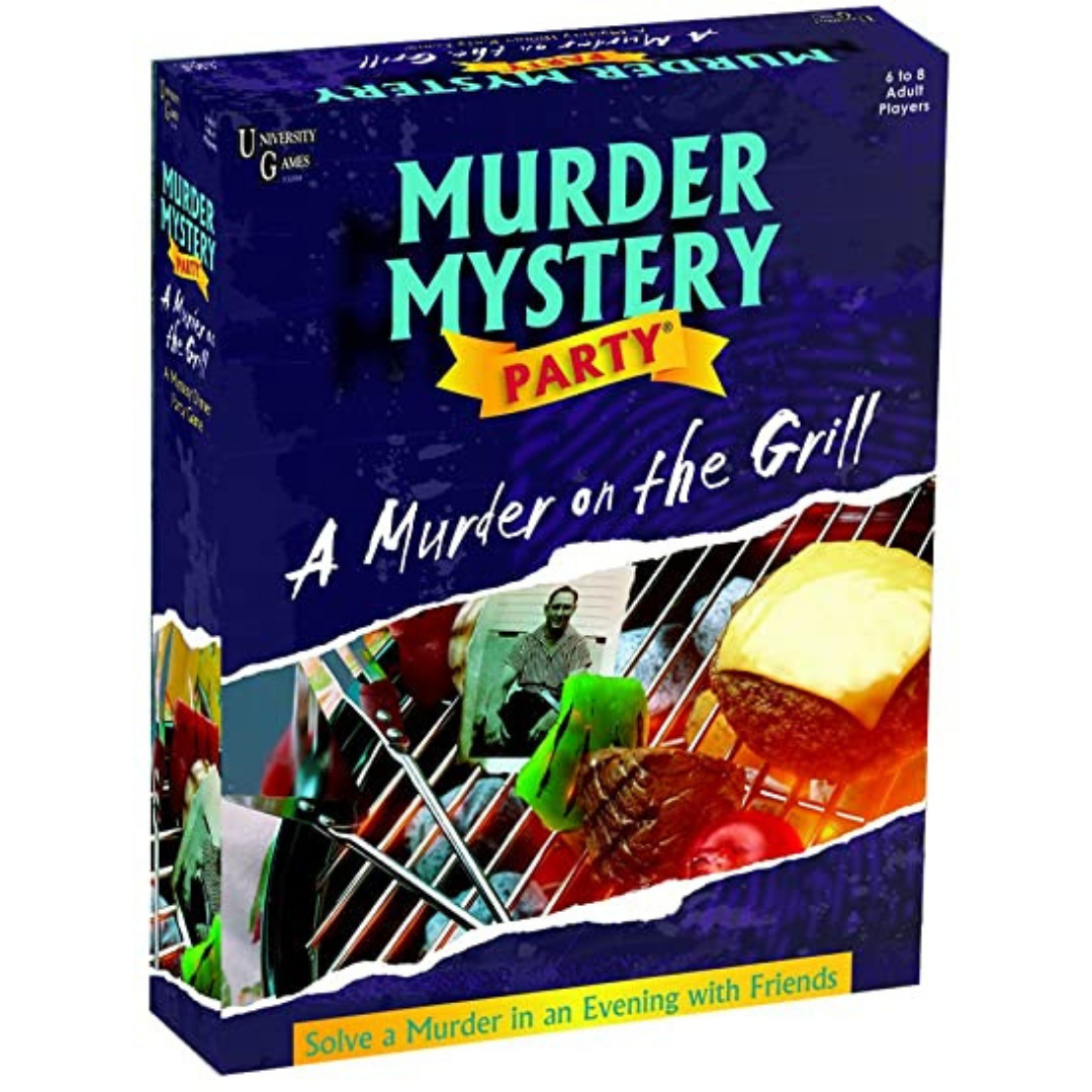 A Murder Mystery Party: A Murder on the Grill