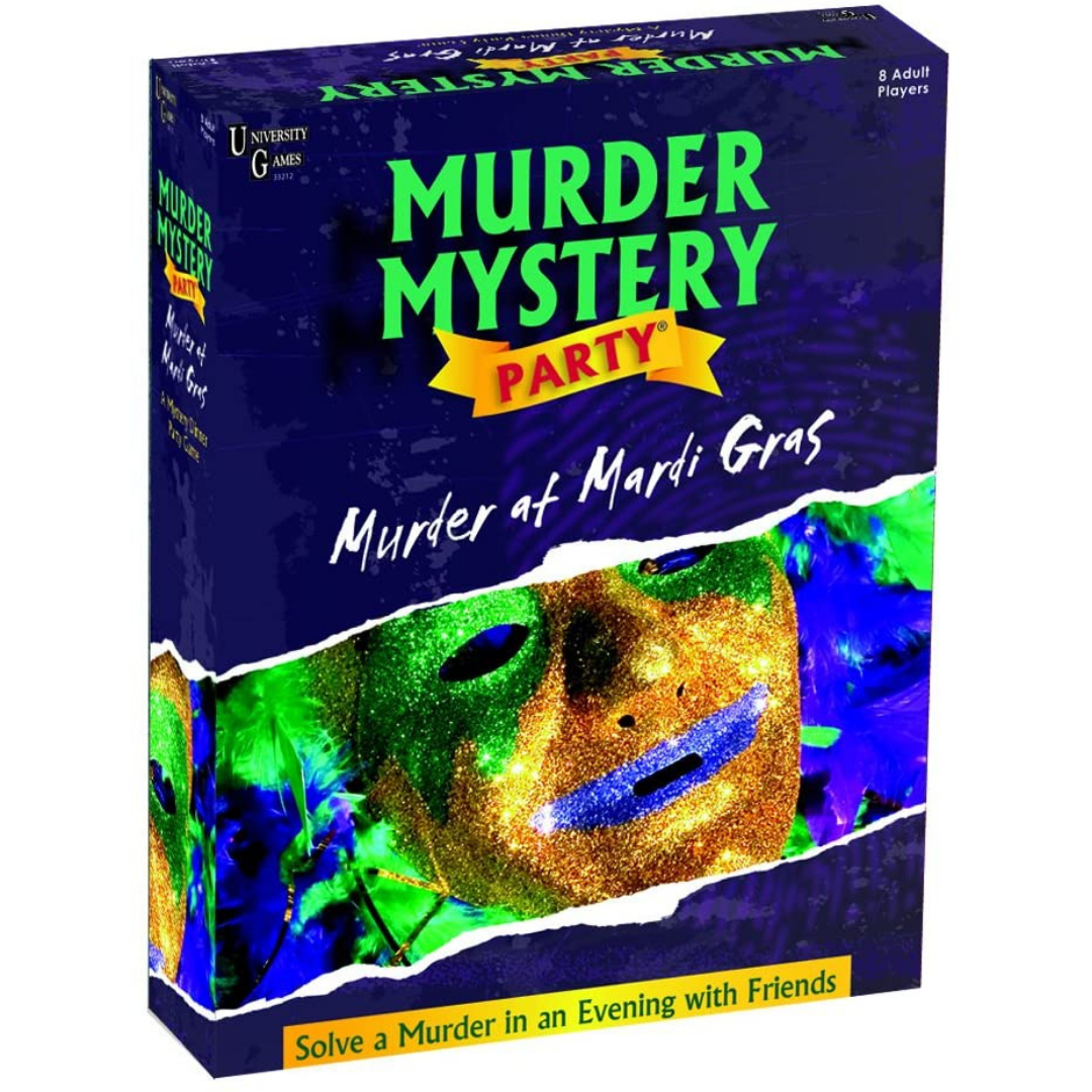 A Murder Mystery Party: Murder at Mardi Gras