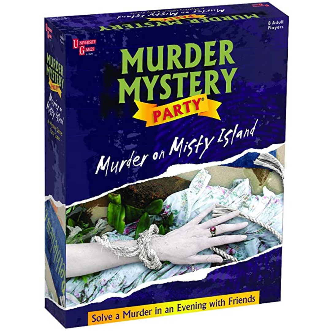 A Murder Mystery Party: Murder on Misty Island