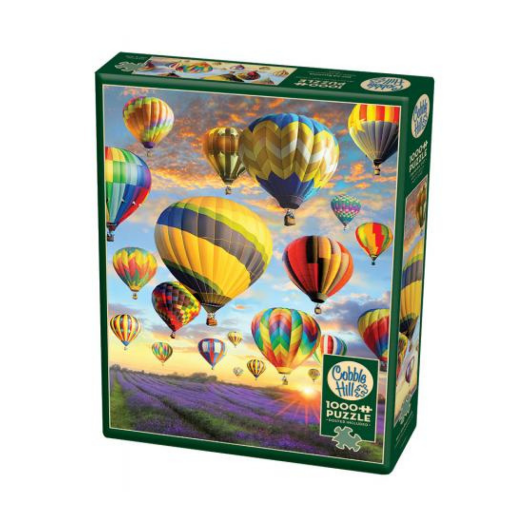Hot Air Balloons (1000 pieces)