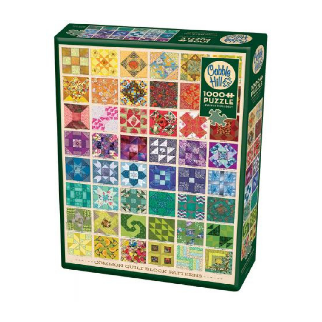 Common Quilt Blocks (1000 pieces)