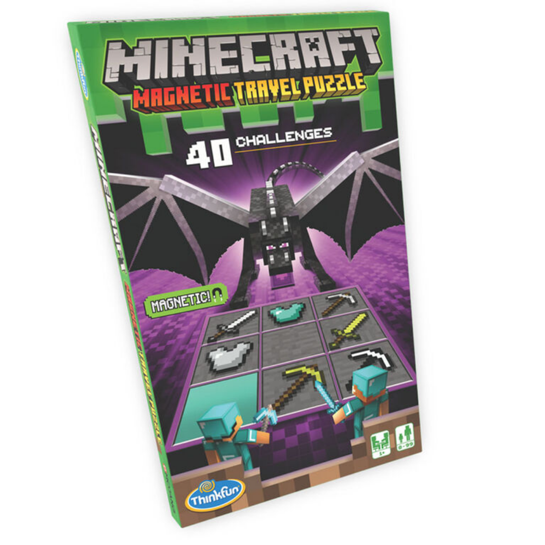 Minecraft Magnetic Travel Puzzle