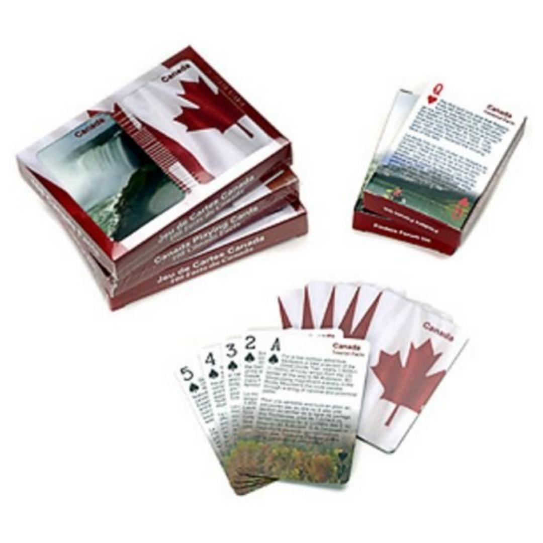 Canada Trivia Playing Cards