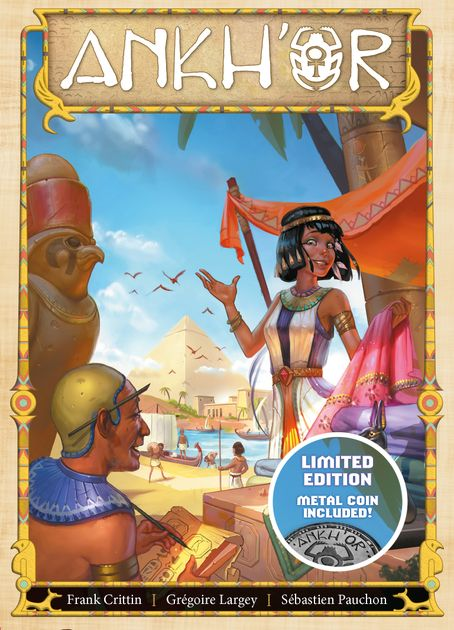 Ankh'Or | Board Game Rental