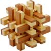 Bamboo Puzzle: Lock Up