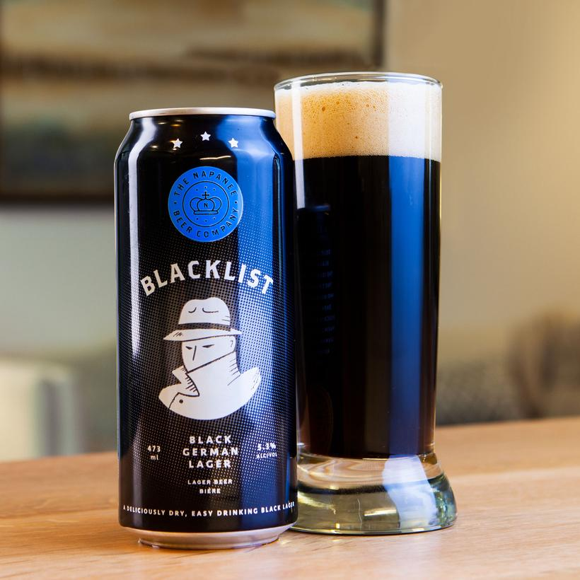 The Napanee Beer Company: Blacklist Black German Lager