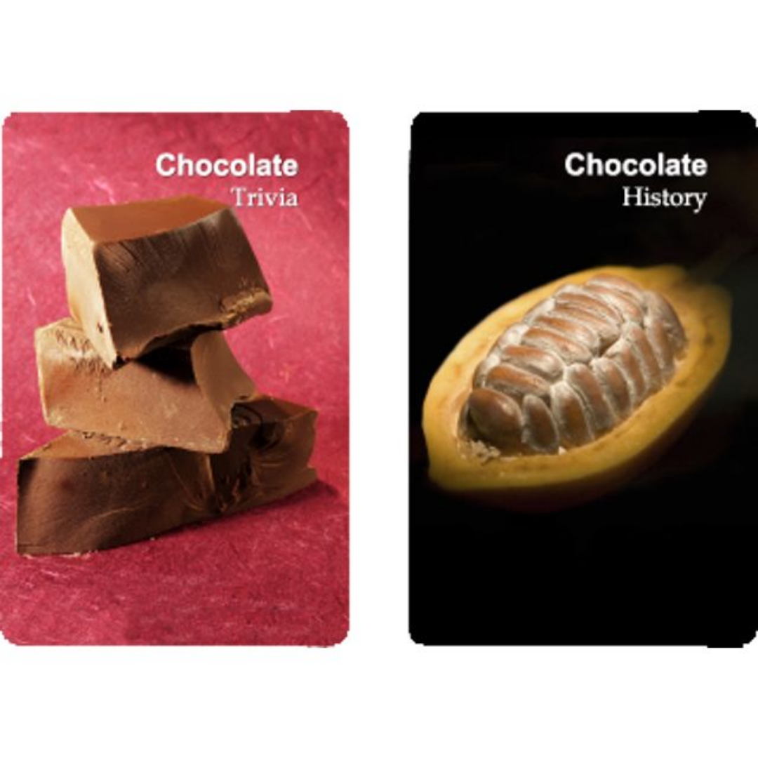 Chocolate Trivia Playing Cards
