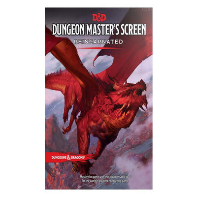 D&D: Dungeon Master's Screen Reincarnated