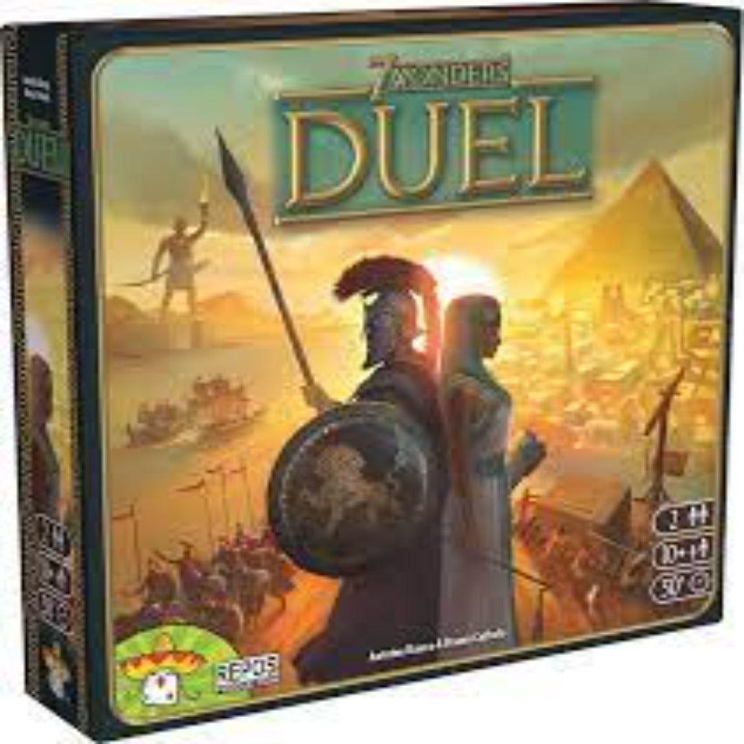 7 Wonders Duel | Board Game Rental