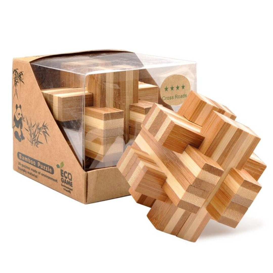 Bamboo Puzzle: Cross Roads