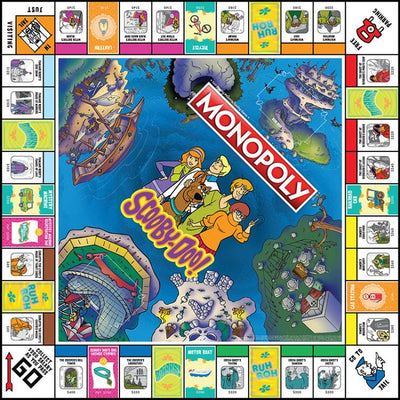 Monopoly: Scooby Doo 50th Anniversary Edition