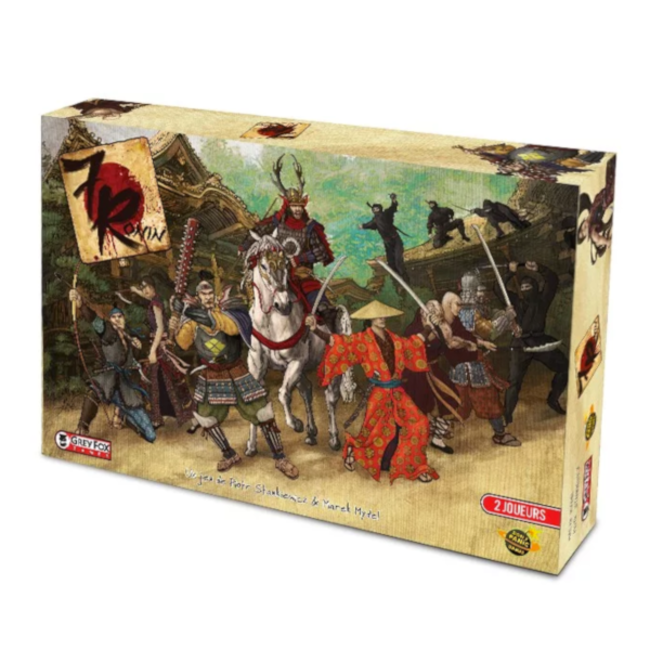 7 Ronin | Board Game Rental
